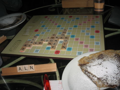 Scrabble n crepes