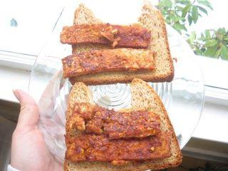 Bread n tempeh