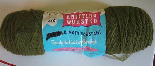 Swirl knitting worsted