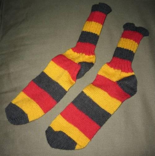 German Flag Socks