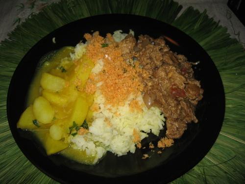 Sri Lankan Curry Platter